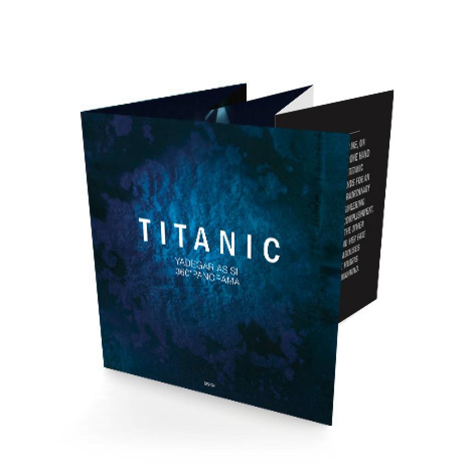 TITANIC - Leporello