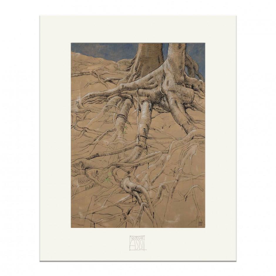"""CAROLAS GARTEN – Miniprint """"Wurzel"""""""