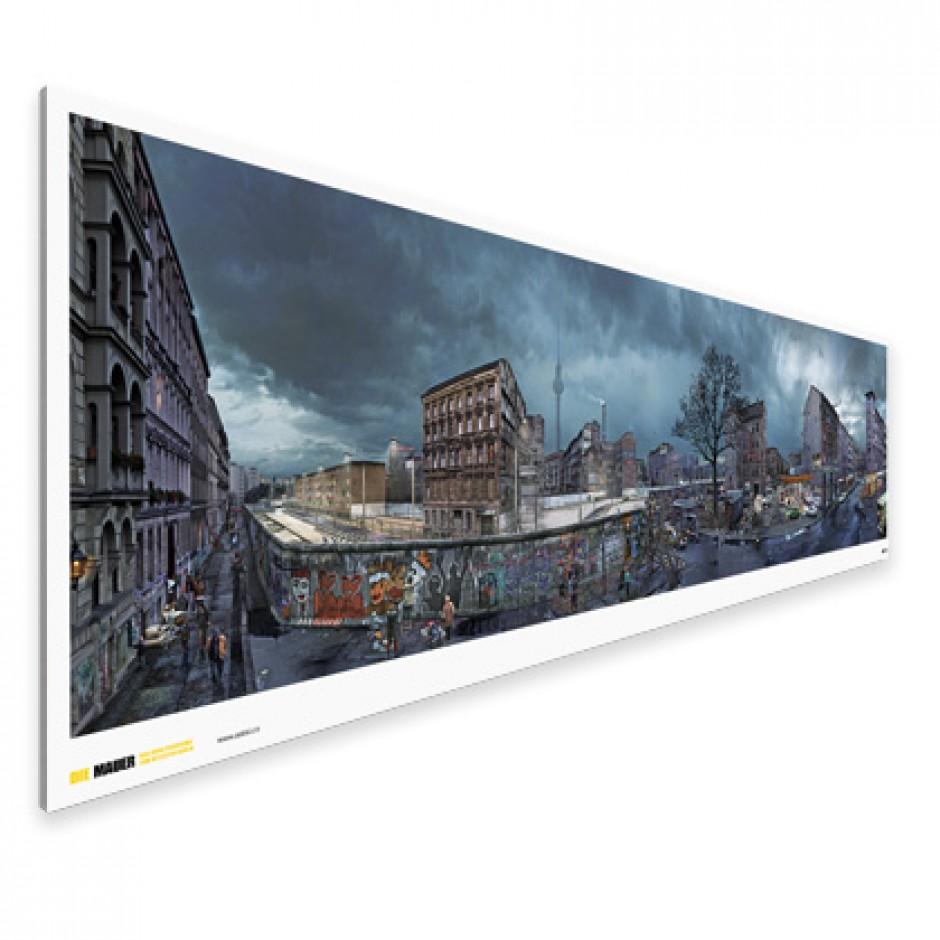 DIE MAUER – Panoramaposter
