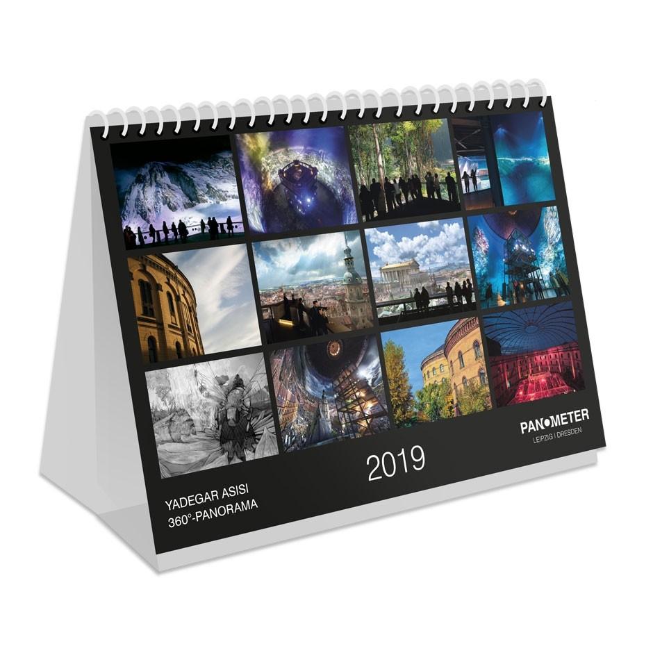 PANOMETER – Tischkalender 2019
