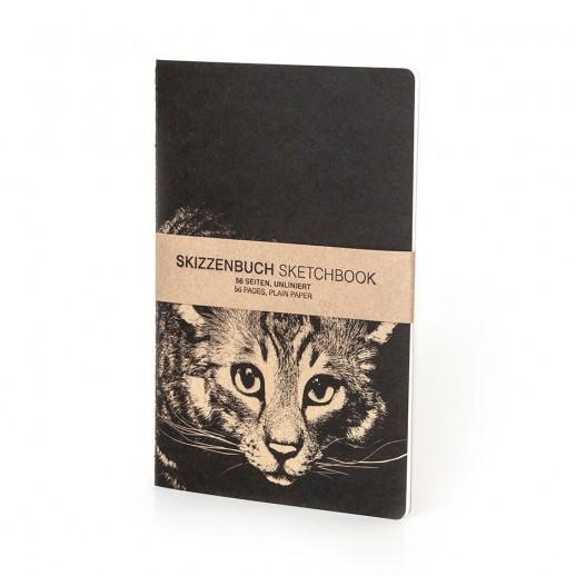 """CAROLAS GARTEN – Skizzenbuch """"Katze"""""""