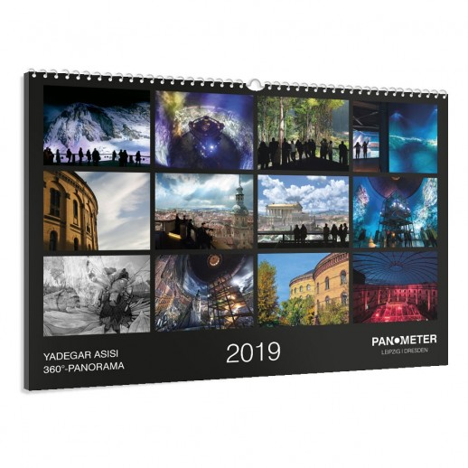 PANOMETER – Wandkalender 2019