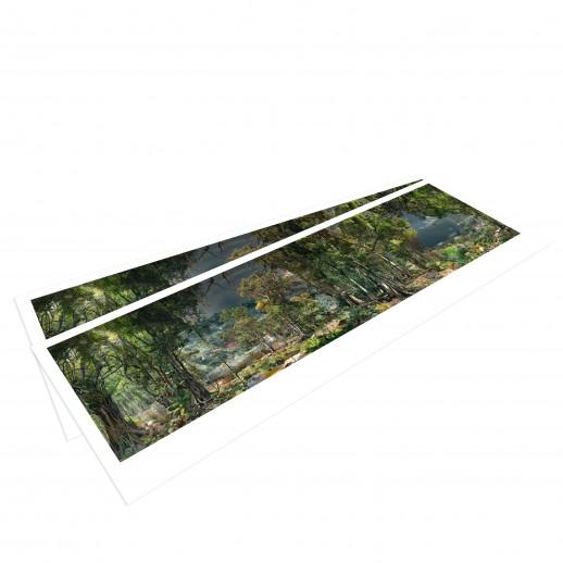 AMAZONIEN – Panoramapostkarte