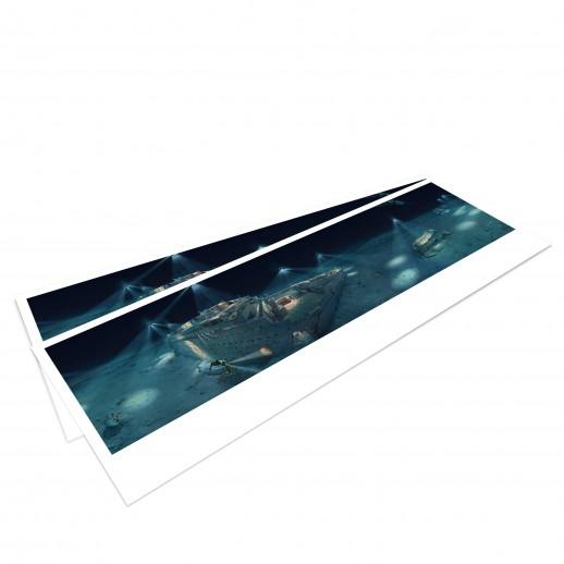TITANIC – Panoramapostkarte