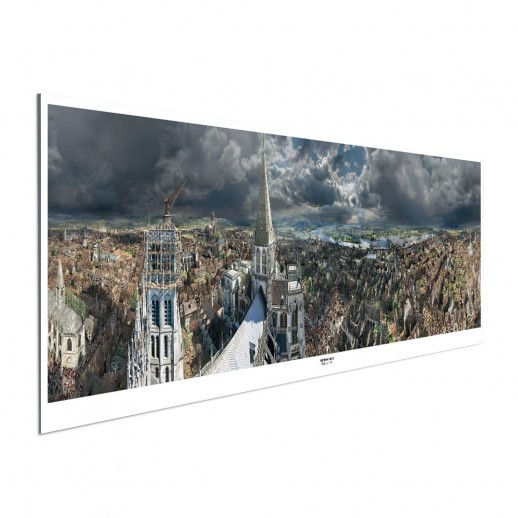 ROUEN 1431 – Panoramaposter