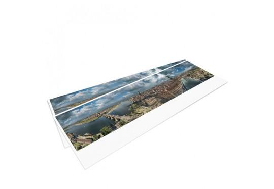 DRESDEN IM BAROCK – Panoramapostkarte