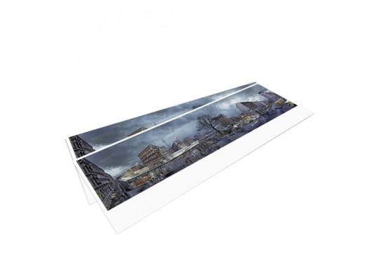 DIE MAUER – Panoramapostkarte