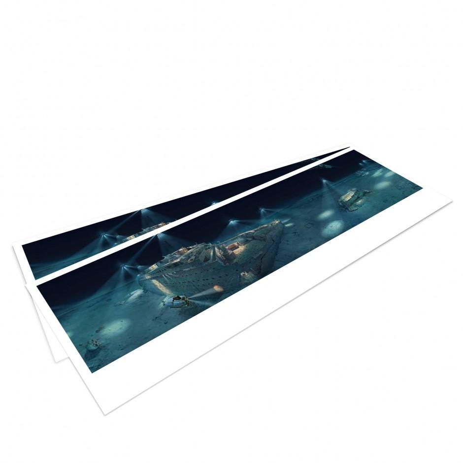 TITANIC – Panorama Postcard